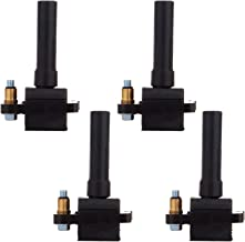 cciyu Pack of 4 Ignition Coils for Saab 9-2X Subaru Baja/Forester/Impreza/Legacy/Outback/Outback 3 2004-2012 Fits for UF508 5C1478