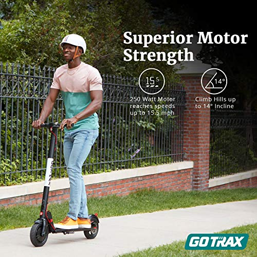Gotrax GXL V2 Commuting Electric Scooter - 8.5' Air Filled Tires - 15.5MPH & 9-12 Mile Range - Version 2