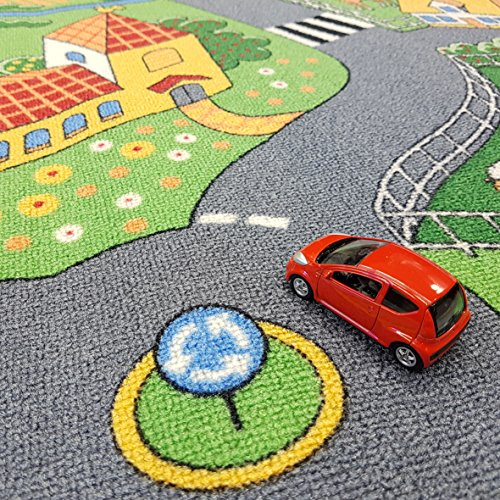 Associated Weavers Spielteppich Stadt (95x200cm) - 4
