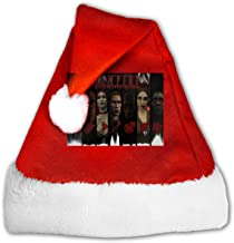 GFHM111 Vampire The Masquerade - Bloodlines-1 Christmas Santa Hat Plush Claus Cap Xmas Hat for Adults and Kids