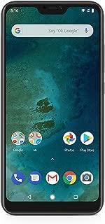 Xiaomi Mi A2 Lite 64GB + 4GB RAM, Dual Camera, LTE AndroidOne Smartphone (Black)