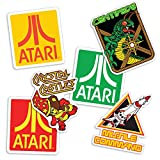 Popfunk Atari Classic Video Games Collectible Stickers with Centipede, Missle Command and Crystal Castles