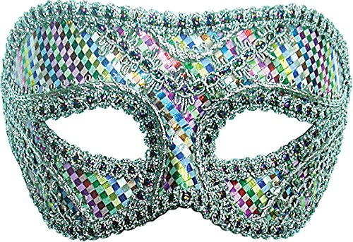 Style Harlequin Masque Yeux Bandeau