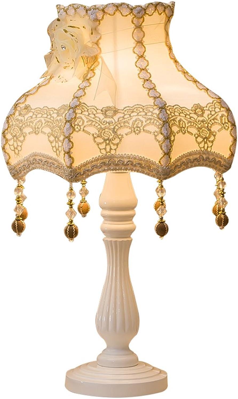 MMM- Garten Tischlampe Schlafzimmer Nachttischlampe Europäische amerikanische Art Retro Dekoration ( Farbe   Gold ) B076CG38JL | Luxus