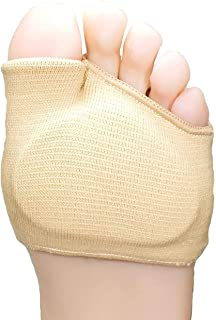 Nasmodo® Metatarsal pads for men and women with ball of foot cushion,foot pads for pain relief hallus valgus support for b...