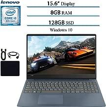 "2019 Lenovo IdeaPad 330S Premium 15.6"" HD Laptop Notebook Computer, Intel 2-Core i3-8130U (up to 3.4GHz), 8GB RAM, 128GB SSD, Wi-Fi, Bluetooth, Webcam, HDMI, Windows 10 S (Blue) w/ Accessories"