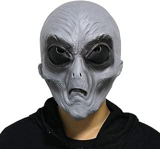 Halloween Novelty Mask Costume Party Latex Alien Head Mask UFO mask