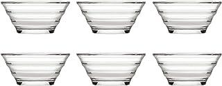 Pasabahce 53932gastroboutique–Juego de 6Mini de–Ensaladera de Cristal (Diámetro de 8,2cm), Cristal de Cuencos, Dip–Bol,–Cuenco de Postre, Meze Carcasa, Tapa Carcasa, 6Unidades