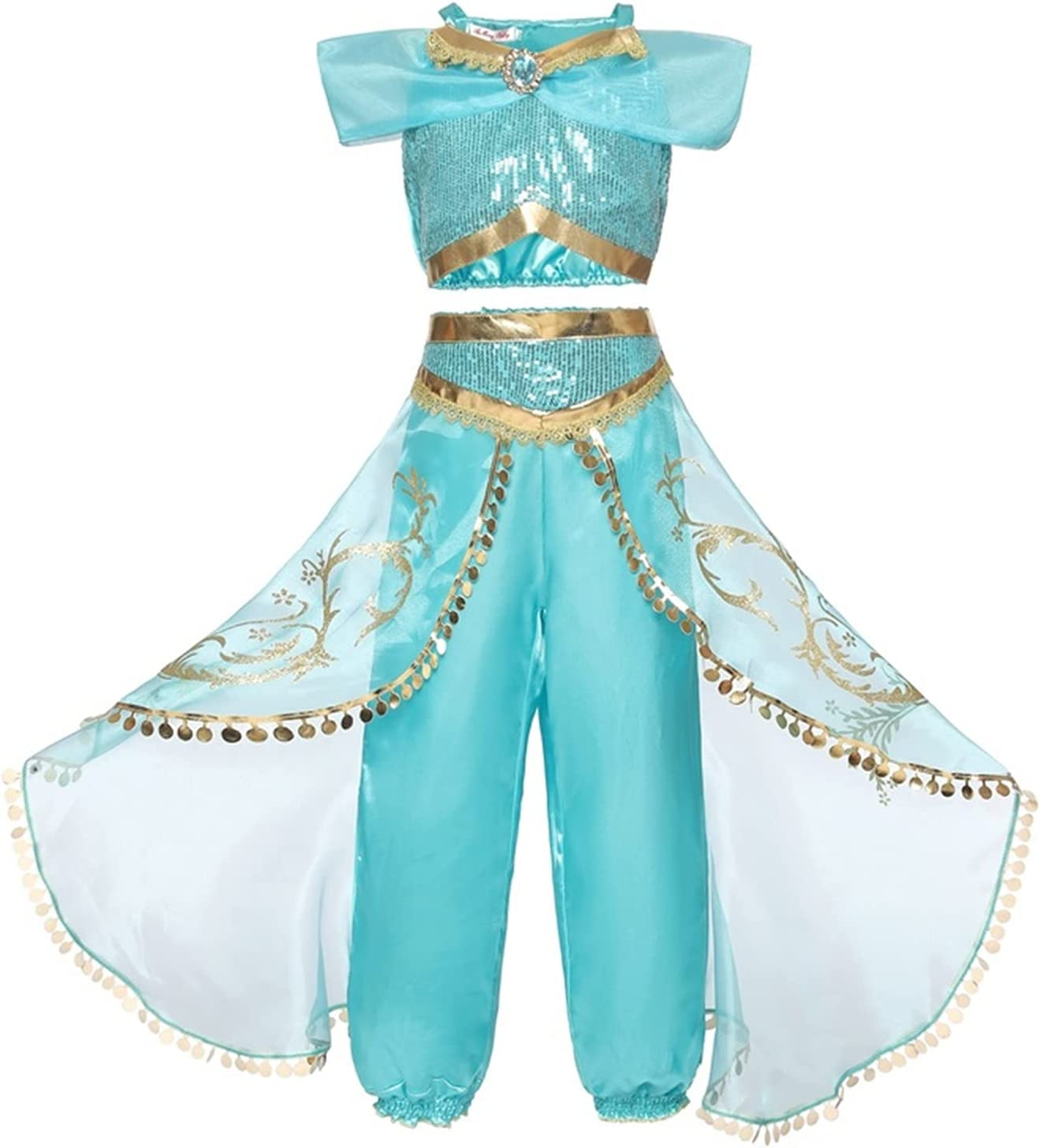 BIVJX Girls' Dresses Girls Princess Ranking integrated 1st Price reduction place Costume Halloween Birt Dress