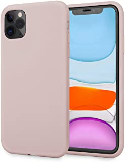 AOWIN Silicone Case for iPhone 11 Pro Case 5.8 Inches Ultra Slim Full-Body Protection Shockproof Case Cover for Apple 11 Pro (Pink, iPhone 11 pro)
