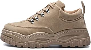 XFentech Men's Boy's Casual Shoes - Autumn Winter Height Top Lace-up Sports Shoes