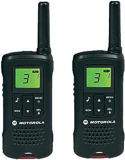 Motorola 59T60PACK Walkie Talkies (TLKR T60, LCD, 8 Canales), Color Negro
