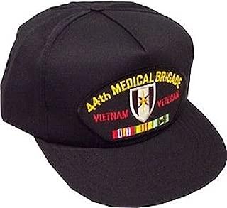 HMC 44th Medical Brigade Vietnam Veteran Ballcap Black