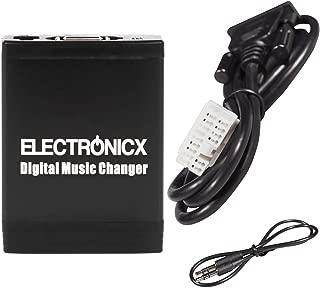 Gazechimp Adaptador de Radio MP3 Jack AUX Conexi/ón 3,5mm para Honda Accord Civic Fit Acura