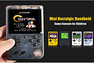 Glumes Handheld Game Portable Game Player Arcade Gaming System Birthday Gift for Children Travel Holiday Recreation 3
