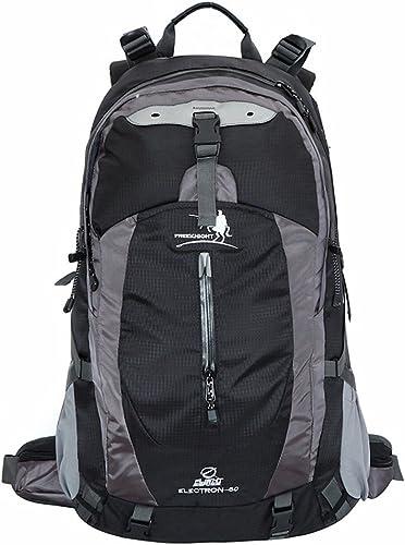 MISHUAI Sac à Dos d'alpinisme Randonnée Sac à Dos Voyage Randonnée Camping Camping Loisirs Neutre Multi-Function Laptop sac Shoulder Sac à Dos Grande capacité (Couleur   Noir)