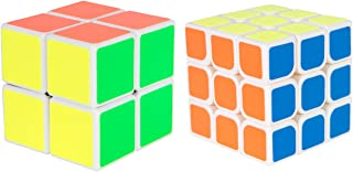 Duncan Activity Cube Puzzle Set - Quick Cube 3 x 3 and Quick Cube 2 x 2 (2 Cube Puzzles Included)