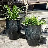 Glitzhome GH20290 planter pot