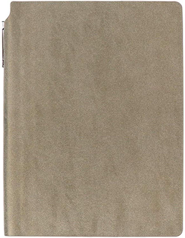 Notizbuch, A5 Soft Face Notizblock   308 Seiten Business-Notizbuch horizontale Linie hochglänzendes Handbuch Stifteinsatz Grau   16  21cm B07PF88R9R | Reparieren