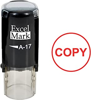 Copy - ExcelMark Self-Inking Rubber Stamp - A17 Red Ink