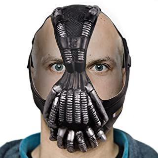 Scary Dark Horror Mask for Halloween Horror Costume Ball Helmet Latex Knight Masks