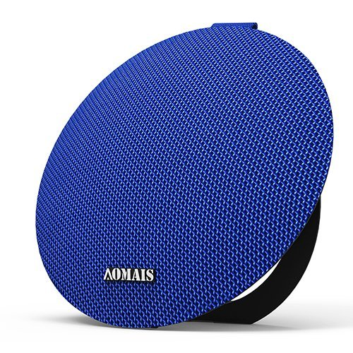 AOMAIS Ball Bluetooth Speakers,Wireless Portable Bluetooth 4.2,15W Superior Sound with DSP,Stereo Pairing for Surround Sound,Waterproof Rating IPX7,for Sports,Travel,Shower,Beach,Party(Blue)