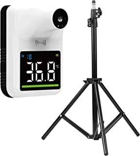 Decdeal Wall Mounted Non-contact IR Thermometer, Tripod Bracket,Tripod Support for Thermometer Adjustable Height 1.6M 1/4 ...