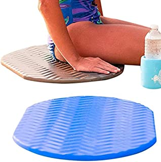 Robelle Poolside Cushion for Swimming Pools, Bronze and Blue 2-Pack