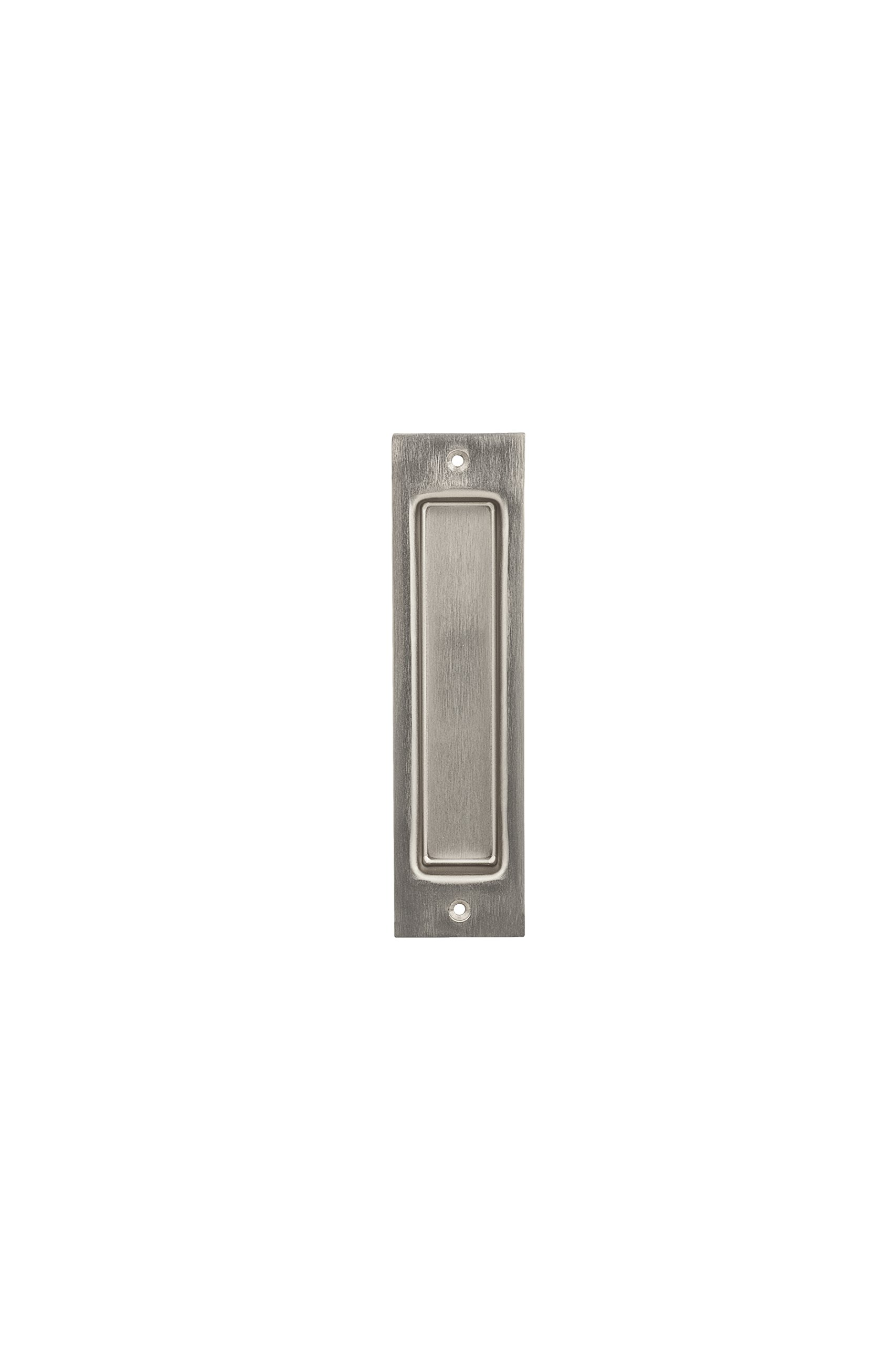 National Hardware N187 – 024 Flush Pull, níquel satinado: Amazon ...