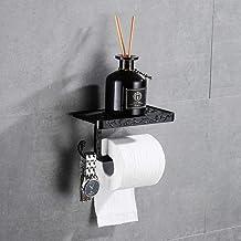 Hoomtaook toiletrolhouder toiletrolhouder toiletrolhouder met gsm-houder wandhouder rolhouder wandmontage badkameraccessoi...