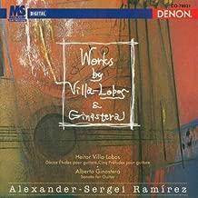 Villa-Lobos: Twelve Etudes, Five Preludes for Guitar / Ginastera: Sonata for Guitar