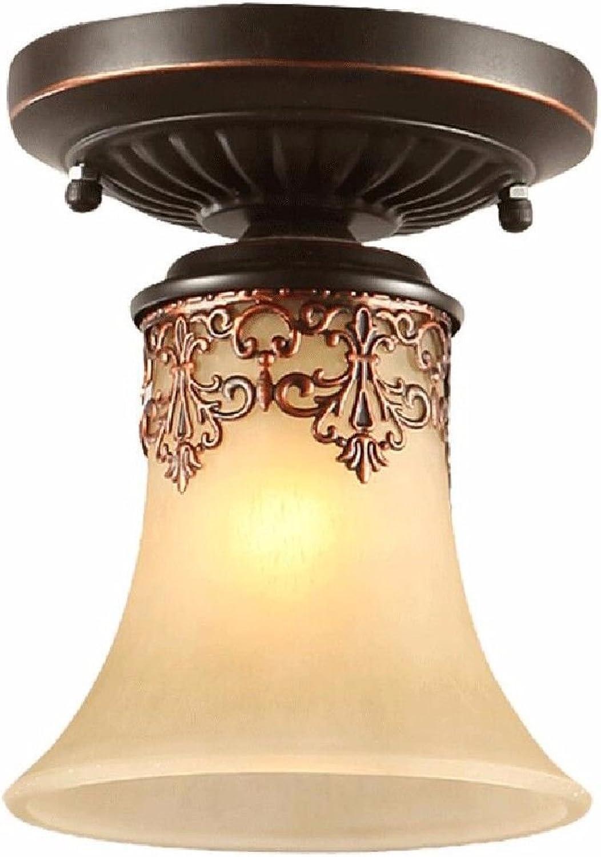 CJSH La Sculpture Minimaliste Américaine Feux Fer Feux, Cuisine Allée Lampes, Plafond