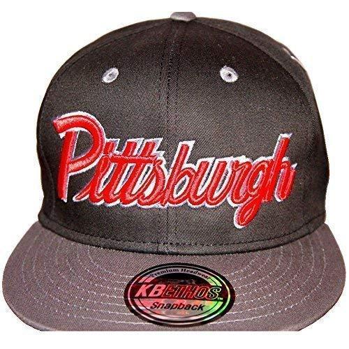 KB Ethos Pittsburgh - Gorras de béisbol unisex Negro Talla única