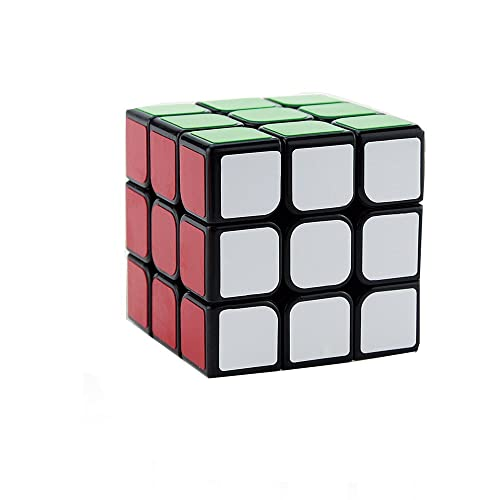 Three Horses 3*3  Cube Smooth Feel Good Speed Black 5.6 * 5.6 * 5.6CM