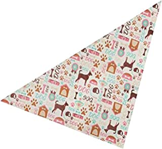 """Top Performance Best in Show Dog Grooming Bandana, 22"""" x 22"""""""