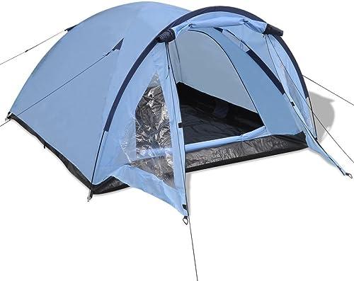 Xingshuoonline de plein air randonnée tentes 3P Famille tentes Bleu