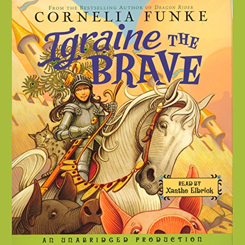 Igraine the Brave audiobook cover art