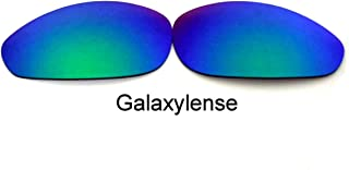 Galaxylense Men's Replacement Lenses For Oakley Straight Jacket (2007) Polarized clear