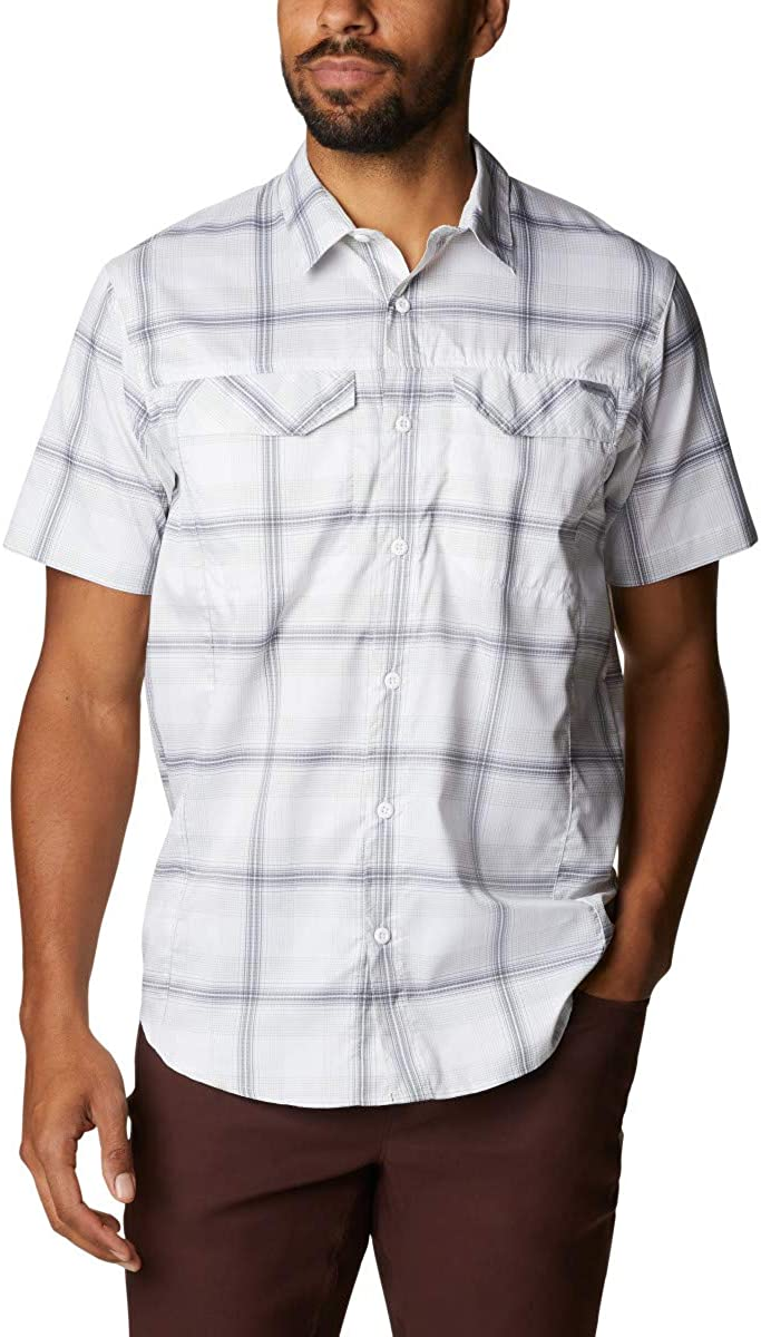 Animer and price revision Reservation Columbia Men's Silver Ridge Plaid Short Lite Sleeve