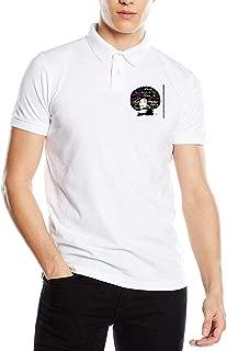 JJHH Shop Vinyl Transfer Afro Lady Men's Boy Office Golf Polo Shirt