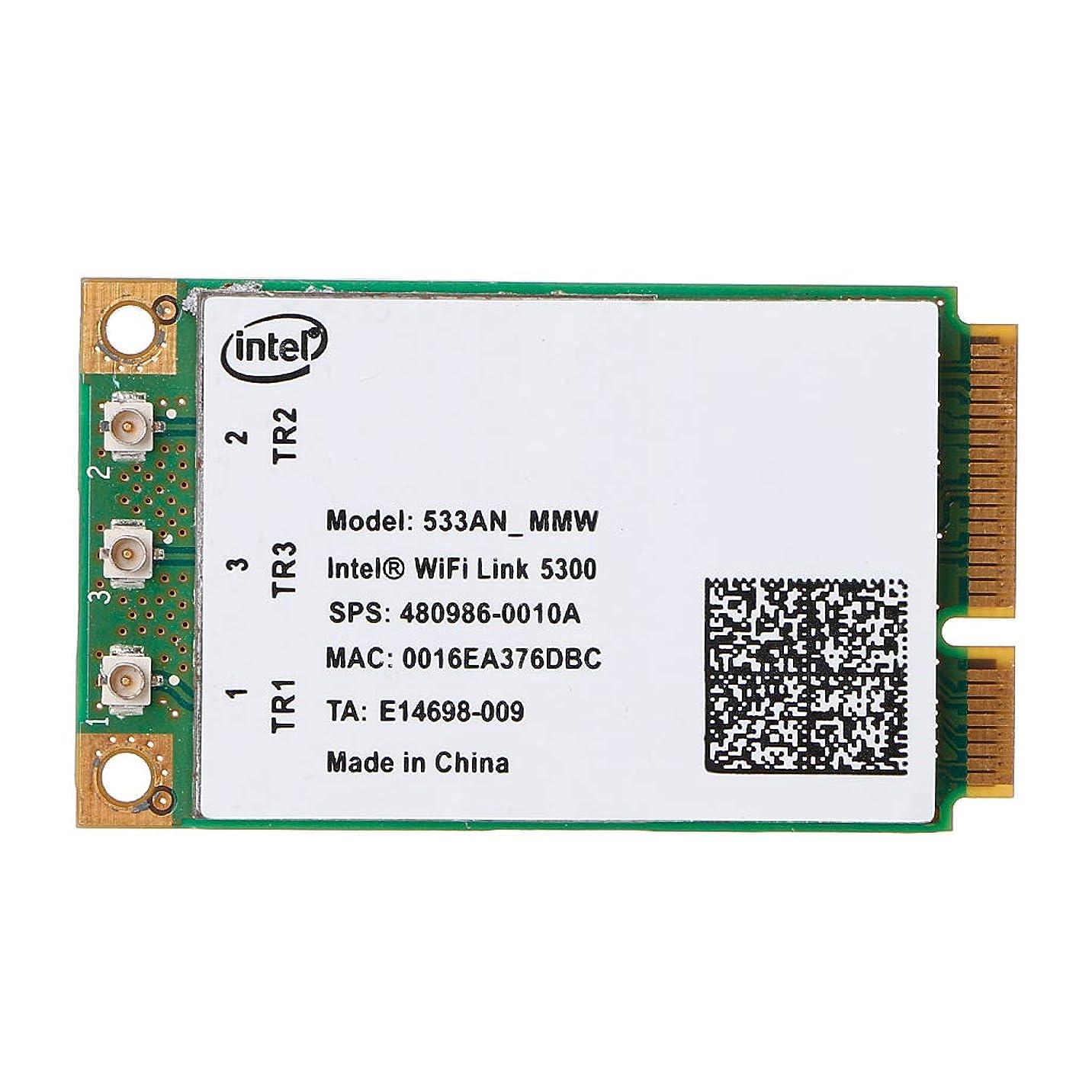Rabortw 5300 533AN_MMW ワイヤレス WLAN wifi ミニ PCIe カード 802.11 n + 450Mbps デバイスモジュール