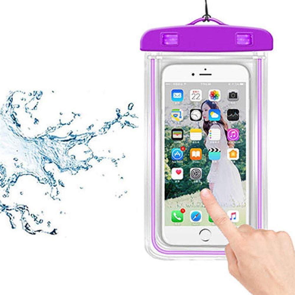 Askfairy Waterproof Phone Bag,Universal Cellphone Dry Bag for 6.9 inch Phone for Pool / Beach / Spa
