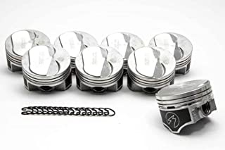 Speed Pro Chevy 402 (350 HP) Forged +14cc Dome Coated Pistons+MOLY Rings Kit (.040 Bore)