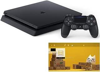 PlayStation 4 ジェット・ブラック 500GB (CUH-2200AB01) 【特典】オリジナルカスタムテーマ (配信)