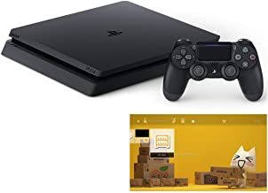 PlayStation 4 ジェット・ブラック 500GB 特別販売【Amazon.co.jp特典】オリジナルカスタムテーマ (配信)