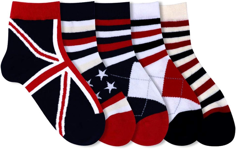 Lobster Feet Kid's Short length Multi Pack Socks