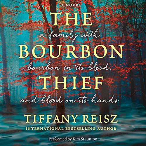 The Bourbon Thief audiobook cover art