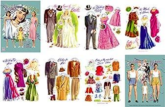 #0155- Bride & Groom, 1949 Restored Paper Doll Book