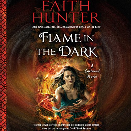 Flame in the Dark audiobook cover art