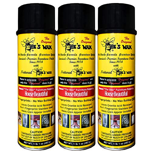Our #4 Pick is the The Original Bee's Wax Old World Formula Furniture Polish